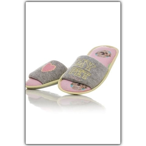 Chinelo de quarto infantil  - Happy Kingdom