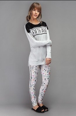 Pijama Legging 5Th Avenue