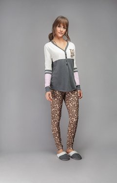 Pijama feminino com legging - day off