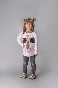Pijama infantil com legging - Day Off
