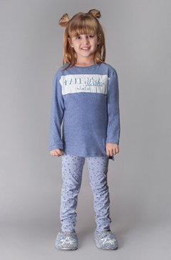 Pijama legging infantil - Make a Wish
