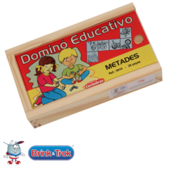 DOMINO EDUCATIVO METADES - comprar online
