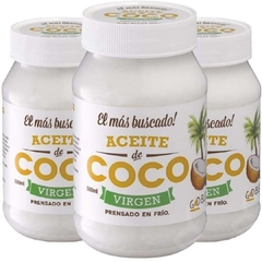 "ACEITE DE COCO VIRGEN ""GOD BLESS YOU"" - 500 ml"