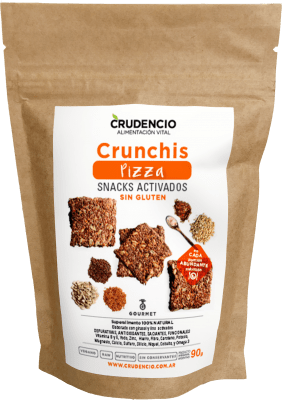 Crunchis Pizza CRUDENCIO - 90g