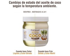 "ACEITE DE COCO PURO NEUTRO ""GOD BLESS YOU"" - 225ml - comprar online"