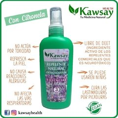 Repelente Natural de Mosquitos con Citronela - Kawsay Health - 75 ml en internet