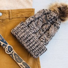 Gorro Wool Brown