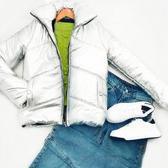 CAMPERA BREAK Silver