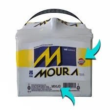 Bateria Moura 50ah Accord Civic Cr-v New Civic M50JD - M50JE