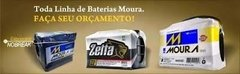 Bateria Automotiva Moura 40ah M40SD - M40SE Honda City Sedan Fit Hyndai Atos - KRIOKBATERIAS