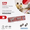 FLEXIBLE ACERO INOXIDABLE RADIADOR