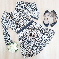 Vestido Animal Print - I LOVE BAZAR