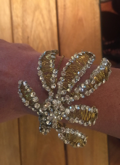 BRAZALETE LEAVES GOLD - comprar online