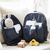 Mochila Mini Olivia Black Matelasse - Mommy