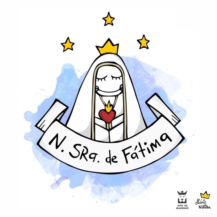 Quadro Nossa Senhora De Fatima