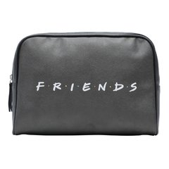 NECESSAIRE PU WB FRIENDS HOW YOU DOIN FD PRETO 23,5x6,5x17cm - comprar online