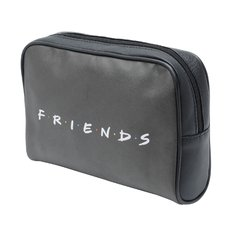 NECESSAIRE PU WB FRIENDS HOW YOU DOIN FD PRETO 23,5x6,5x17cm na internet