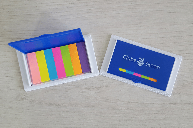 Kit Post-it - Clube Skoob na internet