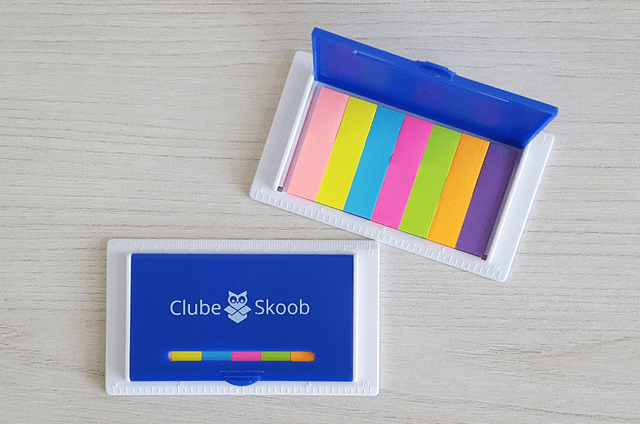 Kit Post-it - Clube Skoob