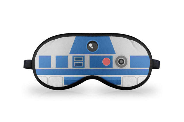 Máscara de Dormir em neoprene Geek Side Faces - R2 - comprar online