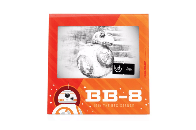 PORTA RETRATO SW FORCA BB8