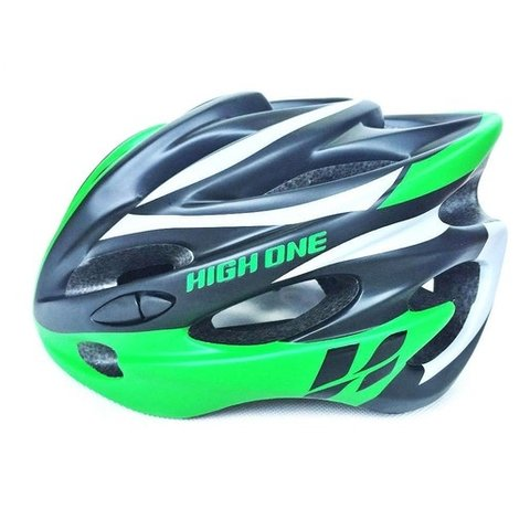 Capacete High One Volcano c/ Led - Verde
