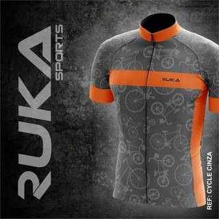 Camisa Ruka Cycle - Cinza