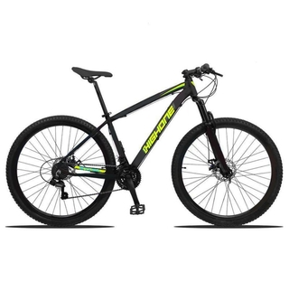 Bicicleta High One Next 27v 2020 Cinza/Amarelo - M