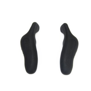 Bar End High One Emborrachado 126MM Preto - comprar online