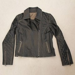 Imagen de 106 Biker jacket with quilted in sleeves