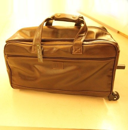 Leather Carry On Big bag