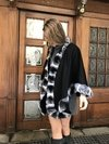 Chinchilla and cashmere cape