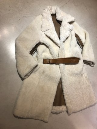 Reversible shearling coat - Silvia y Mario