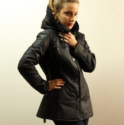 Marcela shearling coat