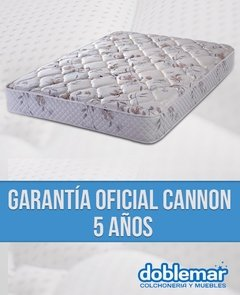 Colchon Resortes cannon platino