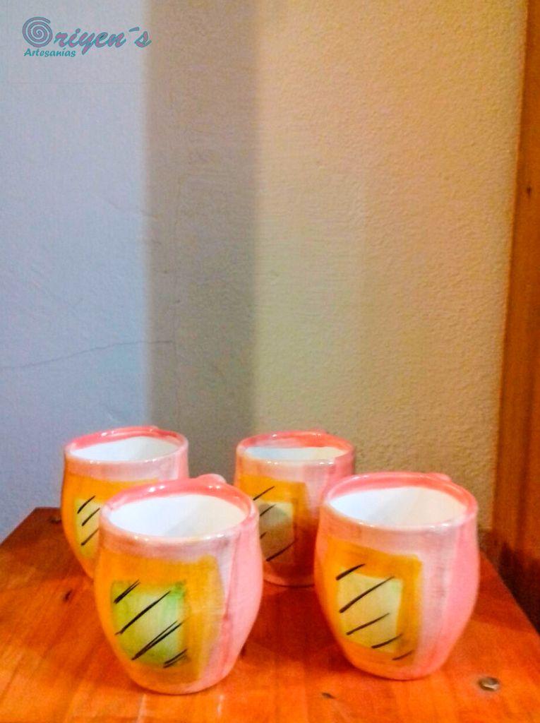 Taza cerámica esmaltada