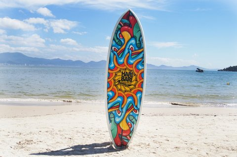 Prancha de Stand up paddle SUP Haribari Arts - SOL