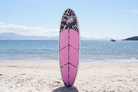 Prancha de Stand up paddle Haribari SUP Arts - Tatoo Rosa - comprar online