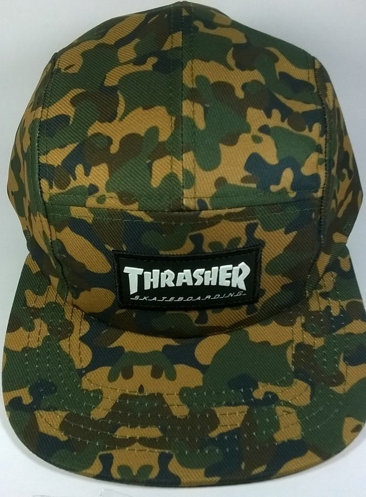709e3157835 BONÉ FIVE PANEL THRASHER SKATEBAORD