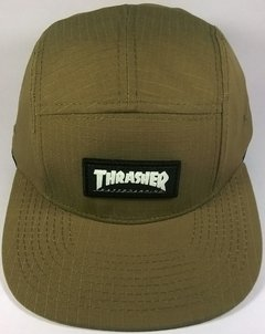 BONÉ FIVE PANEL THRASHER SKATEBAORD