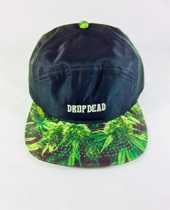 BONÉ FIVE PANEL DROP DEAD