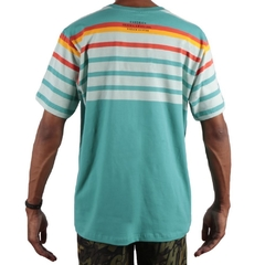 camiseta chronic stripe blue