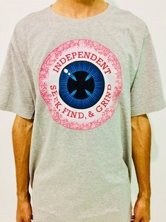 CAMISETA INDEPENDENT TRUCK 50 50 VISION