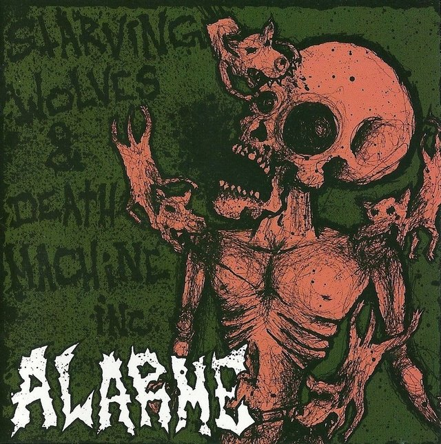 ALARME - STARVING WOLVES & DEATH MACHINE INC