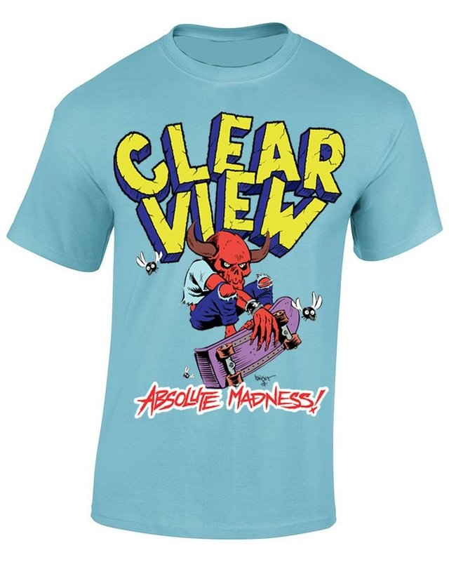 CLEARVIEW - ABSOLUTE MADINESS COMBO CD + CAMISETA na internet