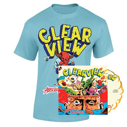 CLEARVIEW - ABSOLUTE MADINESS COMBO CD + CAMISETA