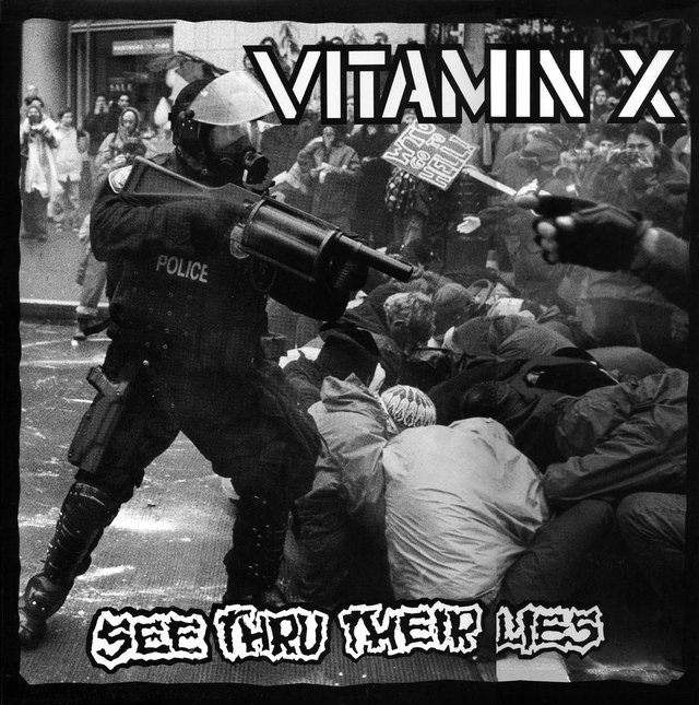 VITAMIN X - SEE THRU THEIR LIES + WE CAME HERE FOR FUN