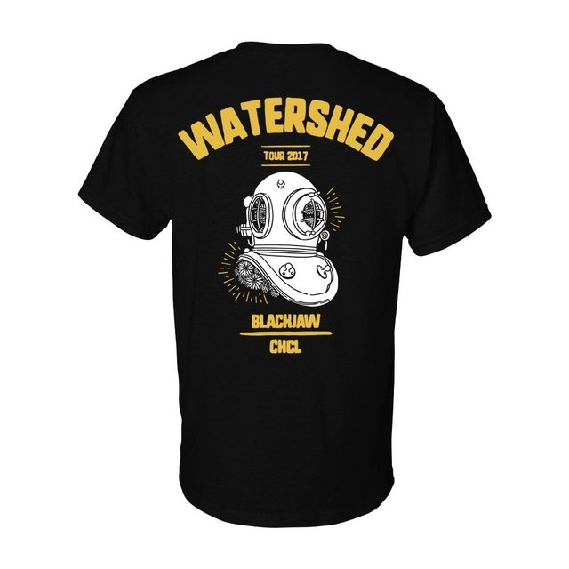 BLACKJAW/CHCL - WATERSHED TOUR CAMISETA - comprar online