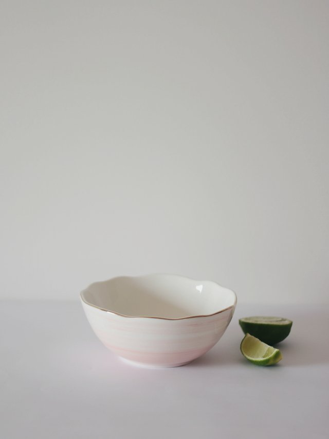 Bowl Aquarela Rosé G