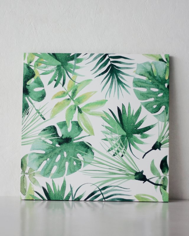 Quadro Canvas Leaves